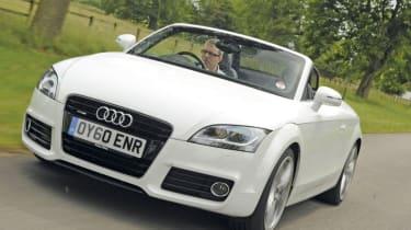 Audi TT 2.0 TFSI front