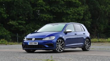 Volkswagen Golf R Performance Pack - front static