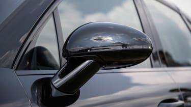 Porsche Macan 2018 prototype wing mirror
