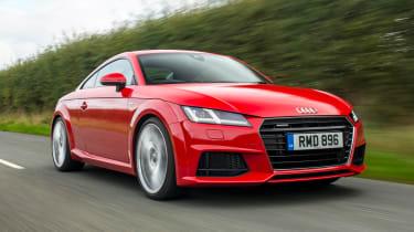 Audi TT Coupe - front