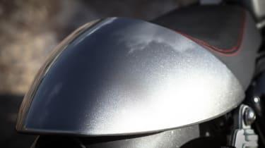 Triumph Thruxton R review - rear bump