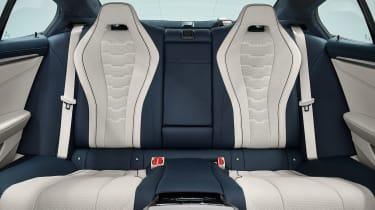 BMW 8 Series Gran Coupe - rear seats