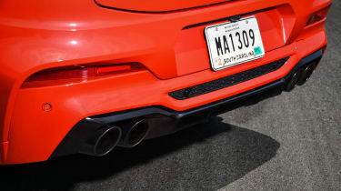BMW X4 M Competition - exhaust