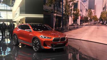 New BMW X2 concept at Paris 2016 front