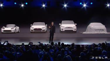 Tesla Model 3 range