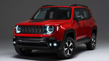 Jeep Renegade PHEV - front