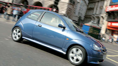 Side view of Ford Ka 1.3