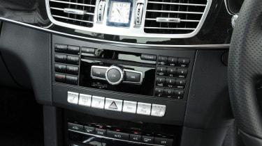 Mercedes E-Class centre console
