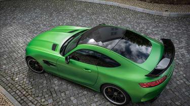 Mercedes-AMG GT R - overhead