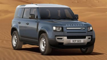 Luke Wilkinson Land Rover Defender front