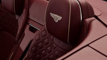 Bentley Continental GTC - studio rear seat detail