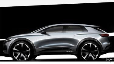 Audi Q4 e-tron concept - profile sketch