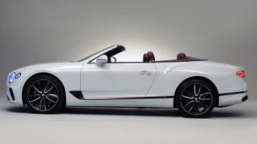 Bentley Continental GTC - studio side