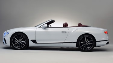 Bentley Continental GTC - studio side