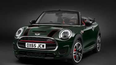 Mini John Cooper Works Convertible 2016 - front quarter cropped