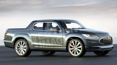 Tesla pick-up - front (watermarked)