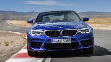 BMW M5 - full front