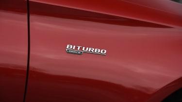 Mercedes-AMG C 43 - Bi-Turbo badge