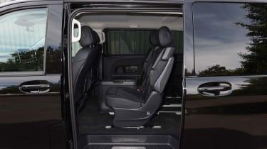 Mercedes V-Class UK drive - side door