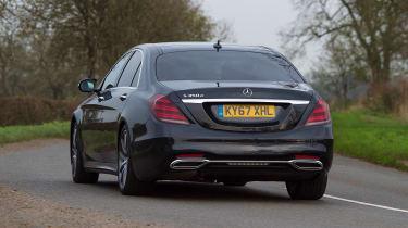 Mercedes S-Class - rear action
