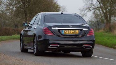 Mercedes S-Class - rear action