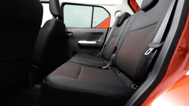 Suzuki Ignis 2016 - rear seats