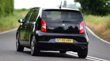 SEAT Mii electric UK - rear driving