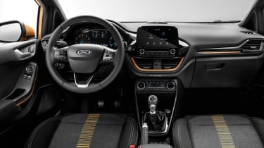 New 2017 Ford Fiesta Active - dash