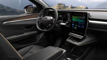 Renault Megane E-Tech Electric SUV - cabin