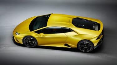 Lamborghini Huracan EVO RWD - aerial static