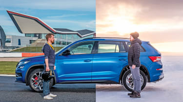 Skoda Kodiaq vrs silverstone feature header