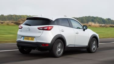Used Mazda CX-3 - rear action