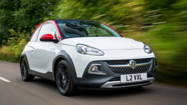 Vauxhall Adam S Rocks 2016 - front tracking