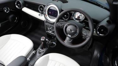 MINI Roadster interior