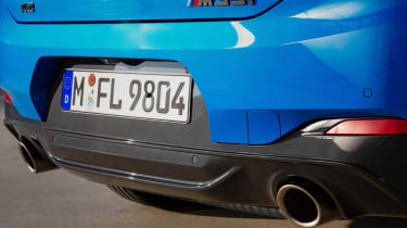 BMW X2 M35i - exhausts