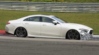 Mercedes CLS - spyshot 6