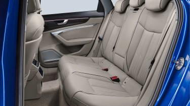 Audi A6 Avant - rear seats