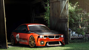 BMW 2002 Hommage Turbomeister - front quarter 2