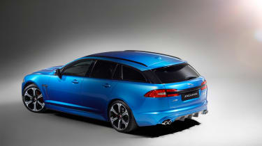 Jaguar XFR-S Sportbrake back