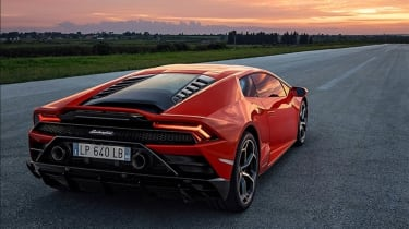 Lamborghini Huracan facelift - rear static