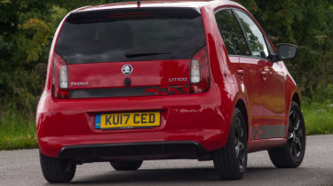 Triple test – Skoda Citigo - rear action