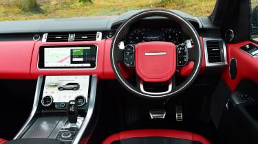 Range Rover HST - interior