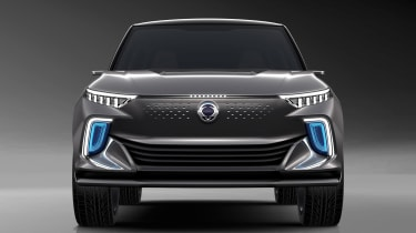 SsangYong e-SIV concept - full front