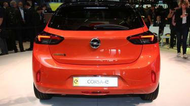 Vauxhall Corsa-e - Frankfurt full rear