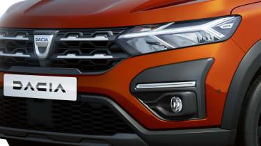 Dacia Jogger - front detail