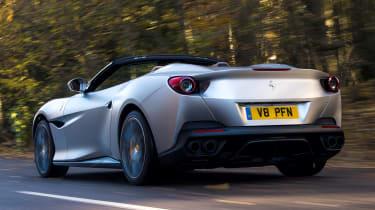 Ferrari Portofino - rear tracking