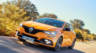 Renault Megane R.S. - front tracking