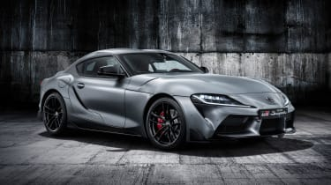 Toyota Supra - grey front