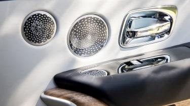 Rolls-Royce Cullinan speakers