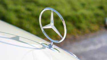 Mercedes S 560 e - Mercedes badge
